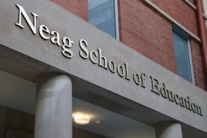 Neag School of Education sign